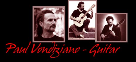 Paul Vondiziano Classical Guitar